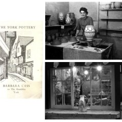 York potter Barbara Cass (images from the W. A. Ismay archive at CoCA York).