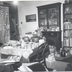 W. A. Ismay in his home. From the archive at CoCA York.