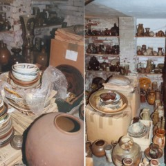 W. A. Ismay's house - 'Bill stored his pots in every room in his house, from floor to ceiling.'