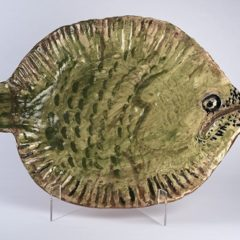 Ann Stokes - Triggerfish serving platter - YORAG_2017_3-1
